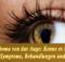 Coloboma von das Auge